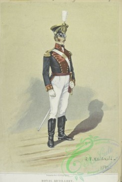 military_fashion-05221 - 200840-Great Britain, 1817-1828, royal artillery soldier