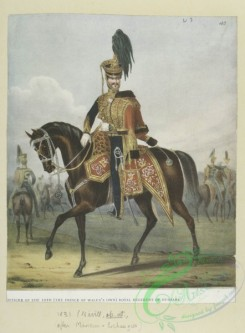 military_fashion-05347 - 200980-Great Britain, 1829-1845, horse rider, officer, royal hussars