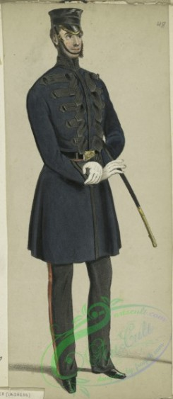 military_fashion-05415 - 201070-Great Britain, 1846-1853, officer, grenadiers guards, undress