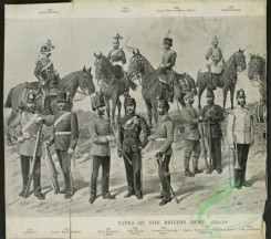 military_fashion-05479 - 201196-Great Britain, 1861-1888, bw, horses, officers, types of the british army