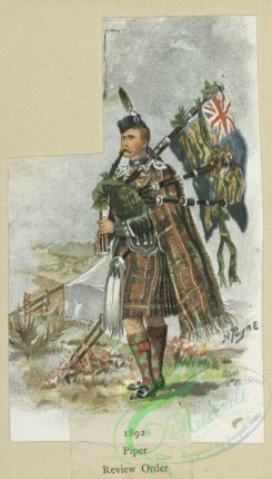 military_fashion-05528 - 201249-Great Britain, 1889-1896, highlander, piper, review order