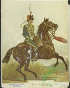 military_fashion-05560 - 201283-Great Britain, 1889-1896, hussars, cavalry, horse rider, officer