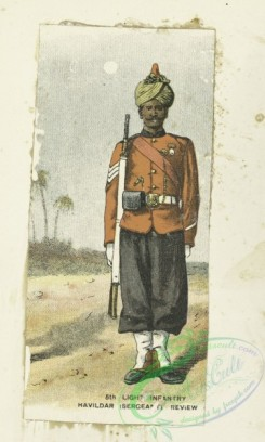 military_fashion-05710 - 201456-Great Britain, colonies, light infantry, private infantry soldier