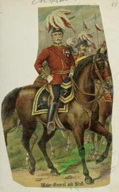 military_fashion-05823 - 208087-Great Britain, 1896-1903, cavalry, horse rider, officer, major-general and staff