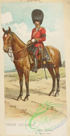 military_fashion-05835 - 208103-Great Britain, 1896-1903, cavalry, horse rider, officer, irish guards, field officer