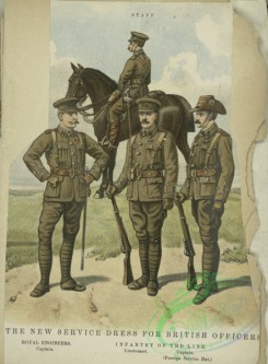 military_fashion-05855 - 208131-Great Britain, 1896-1903, cavalry, horse rider, officer, private infantry soldier