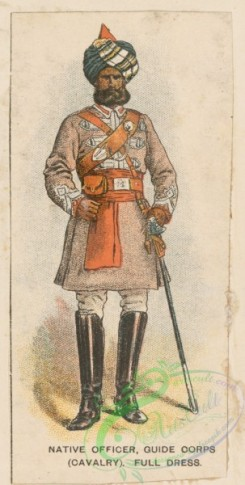 military_fashion-05904 - 208778-Great Britain, colonies, native officer, guide corps