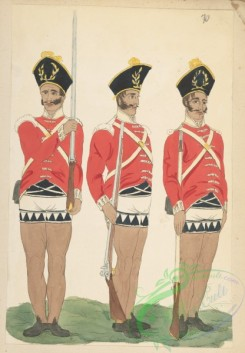 military_fashion-05922 - 208801-Great Britain, colonies, private infantry soldier