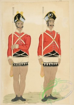 military_fashion-05926 - 208805-Great Britain, colonies, private infantry soldier