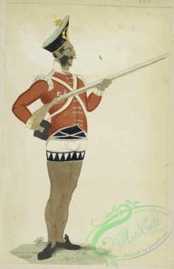 military_fashion-05931 - 208810-Great Britain, colonies, private infantry soldier