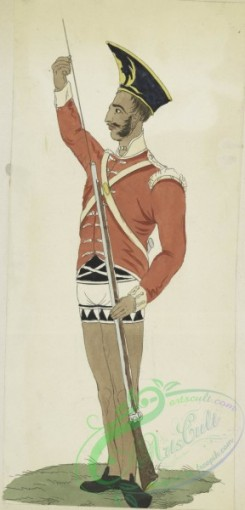 military_fashion-05936 - 208815-Great Britain, colonies, private infantry soldier
