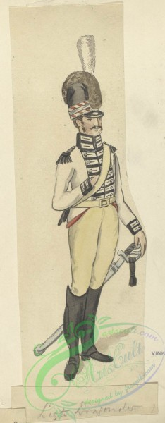 military_fashion-07374 - 100008-Netherlands, 1806-Bataafsche Republiek. Light Dragonder (naar Weiland). 1806
