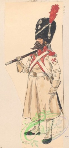 military_fashion-07917 - 101894-Netherlands, 1806-Koninklijk Holland. Sapeur 3 Reg. Linie Infanterie. 1806