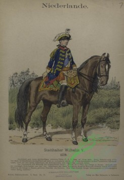 military_fashion-08003 - 103067-Netherlands, 1779-1782-Statthalter Wilhelm V. 1779