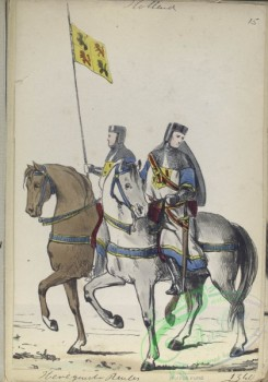 military_fashion-08143 - 103828-Netherlands, 1204-1575-Holland, Henegarde Ruiter