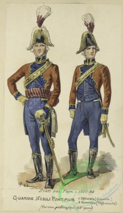 military_fashion-08817 - 206585-Italy, Papal States, 1820
