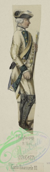 military_fashion-09181 - 207054-Italy, Piedmont and Savoy, 1751-1775