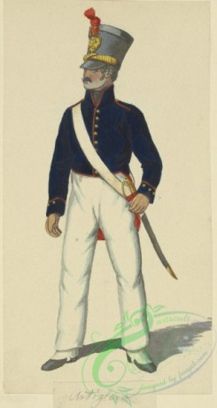 military_fashion-10121 - 210071-Italy, Kingdom of the Two Sicilies, 1820-1822