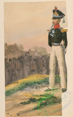 military_fashion-11100 - 117946-Germany, Bremen, 1813-1866, Cologne, 1275-1774