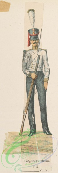 military_fashion-11375 - 119609-Germany, Saxony, 1814-1819