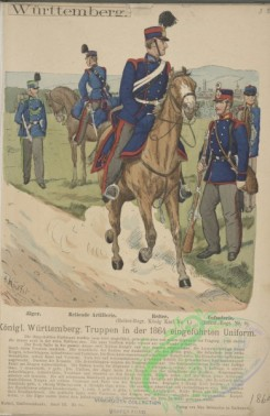 military_fashion-13748 - 204615-Germany, Wurttemberg, 1850-1864