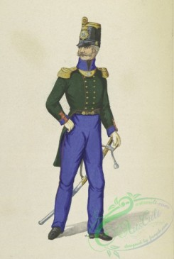 military_fashion-14119 - 300861-Germany, Saxony. 1840-1850