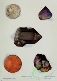 minerals-00018 - Rutilated Quartz, Rose Quartz, Smoky Quartz, Amethyst [2422x3425]