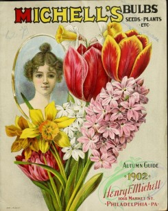narcissus-00136 - 026-Tulips, Hyacinthus, Narcissus, Woman face, portrait