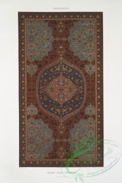 ornaments-00216 - 165-Arabesques-grand tapis veloute (XVIIIe, siecle)