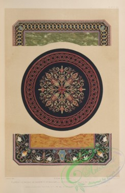 ornaments-00330 - 007-Florentine mosaic by Woodriff of Bakewell, and enamelled slate by Magnus of Pimlico
