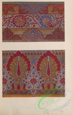 ornaments-00386 - 157-Portions of shawls exhibited by Roxburch , co, of Paisley
