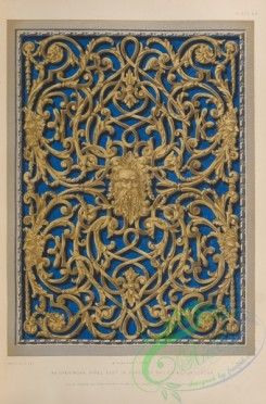 ornaments-00387 - 159-An open-work panel cast in brass by Bailey , co, of London