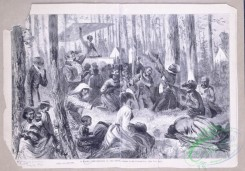 people-00721 - black-and-white 016-A Negro camp-meeting in the South