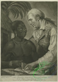 people-00731 - black-and-white 034-The benevolent effects of abolishing the slave trade or the planter instructing his negro