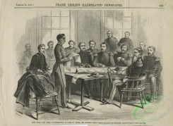 people-00741 - black-and-white 088-West Point cadet James W, Smith reading his defense statement at the United States Military Academy, West Point, New York, January 12, 1871