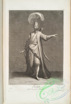 people-00763 - black-and-white 217-Soulak, garde du grand seigneur