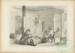 people-00867 - black-and-white 021-Interior of an Abyssinian House