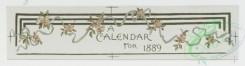 prang_calendars-00009 - 0746-Calendars and Christmas cards depicting flowers and children and sledding 107537