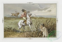 prang_cards_animals-00086 - 059-Christmas and New Year cards with message-'Hang sorrow Care will kill a cat and therefore let's be merry', equestrian scenes 106886