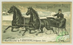 prang_cards_animals-00193 - 1305-1879 New Years, Christmas and trade cards depicting a horse drawn sleigh, soap, laundry, Santa Clause, Christmas tree, children, toys and biscuit boxe 101147