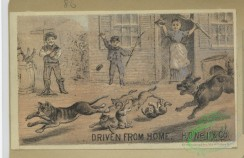 prang_cards_animals-00244 - 1657-Calendars and trade cards depicting cats, dogs, adults, children, angels, butterflies, flowers, kite, winter, spring, a barn yard and a fire 102869
