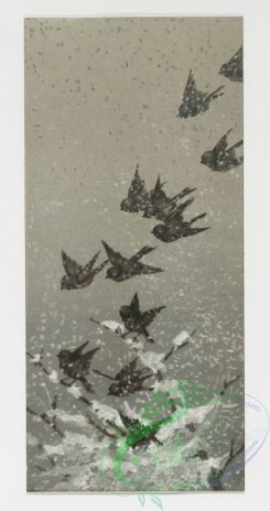 prang_cards_birds-00070 - 0248-Christmas and New Year cards depicting birds in flight, snowy landscapes, and children 104308