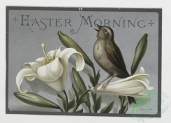 prang_cards_birds-00072 - 0250-New Year cards depicting men and women in village setting, Easter cards depicting birds and flowers 104331