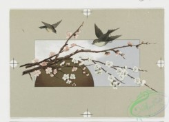 prang_cards_birds-00128 - 0404-Easter cards depicting birds, flowers, eggs and the moon 105569