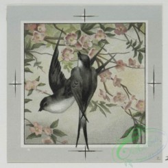 prang_cards_birds-00152 - 0485-Valentines and birthday cards depicting birds, flowers, landscapes 106151