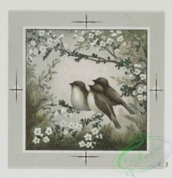 prang_cards_birds-00153 - 0485-Valentines and birthday cards depicting birds, flowers, landscapes 106152
