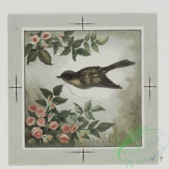 prang_cards_birds-00154 - 0485-Valentines and birthday cards depicting birds, flowers, landscapes 106153