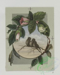 prang_cards_birds-00157 - 0492-Easter and birthday cards depicting birds and flowers, with landscapes 106218