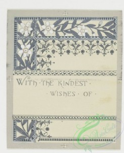 prang_cards_black-and-white-00046 - 0240-Wedding cards with decorative ornamentation, literary quotations, depicting white flowers, bells and hearts 104237