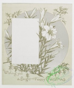 prang_cards_black-and-white-00068 - 0262-Christmas cards depicting Jesus and Mary, poetry with plant and flower ornamentation 104407